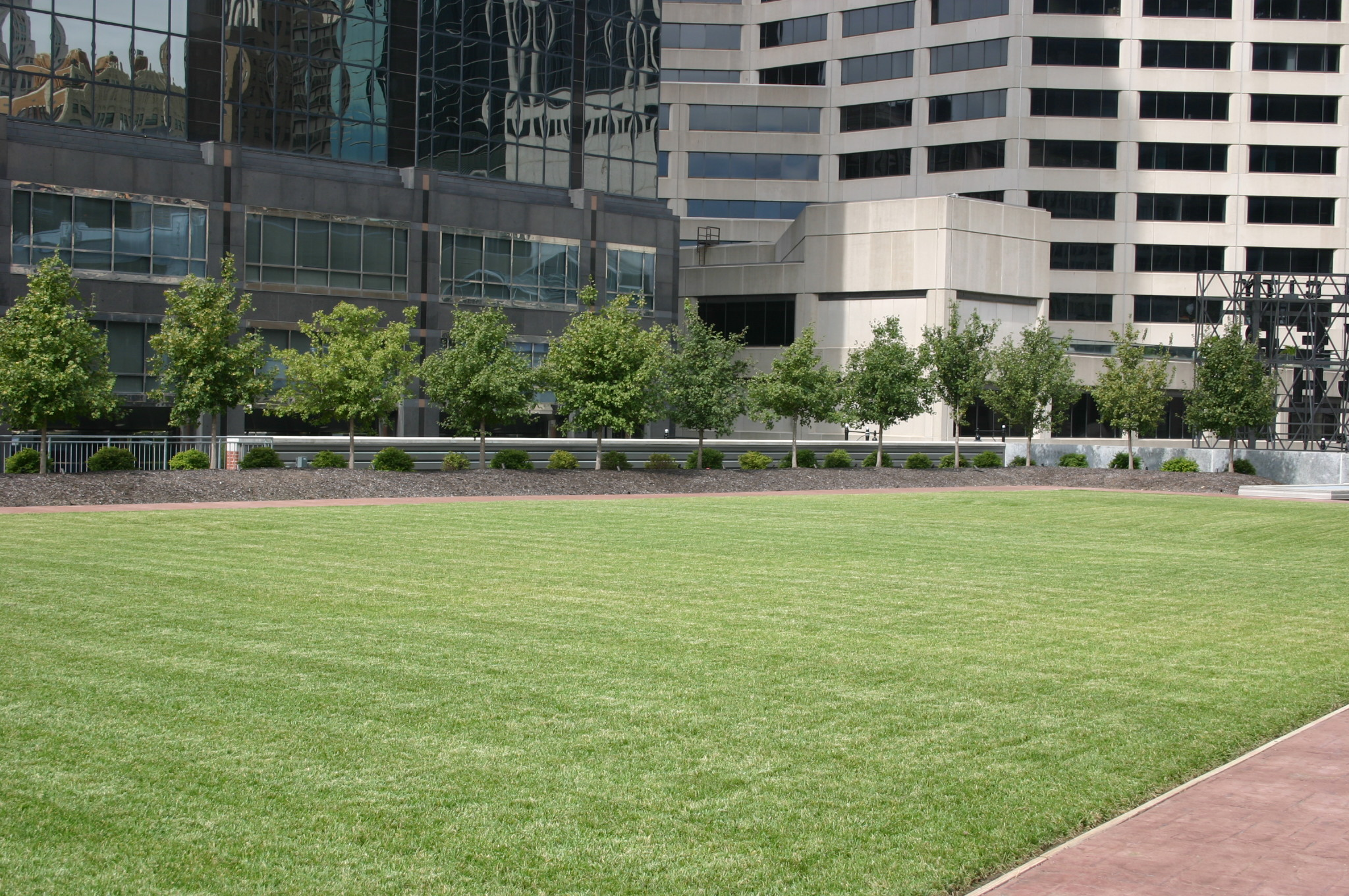 Kansas City Commercial Landscaping   Rooftop